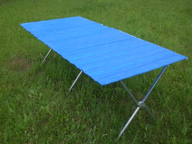 table pliante avec rouleau pour f 234 tes r 233 ceptions d 238 ners foire r 233 ceptions 2m x 1m ebay